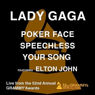 Poker Face / Speechless / Your Song (feat. Elton J