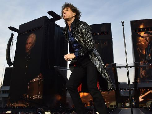 The Rolling Stones volvió a arrancar un concierto con Start me up