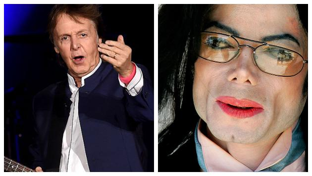 El secreto de la enemistad entre Paul McCartney y Michael Jackson