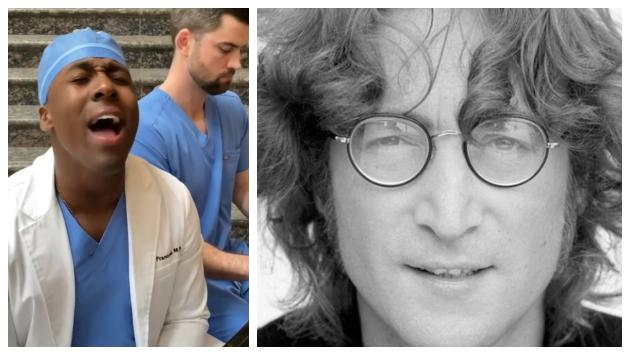 John Lennon: doctores estadounidenses cantan 'Imagine' en medio de su labor contra el coronavirus [VIDEO]