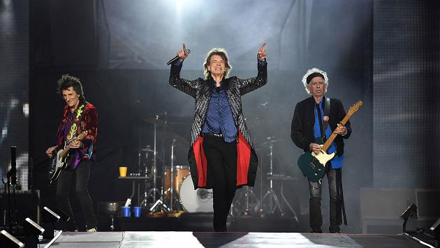 Los Stones cantaron Wild Horses con vocalista de Florence and The Machine