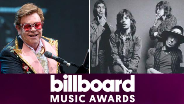 Premios Billboard Music Awards 2020: Elton John y The Rolling Stones se disputan galardón